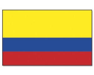 Stock-Flagge Kolumbien