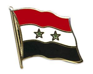 Flaggen-Pins Syrien