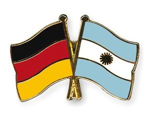 Freundschaftspins Deutschland-Argentinien