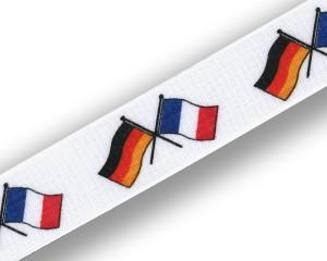 Freundschafts-Schlüsselbänder Deutschland-Frankreich