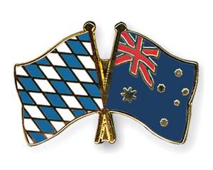 Freundschaftspins Bayern-Australien
