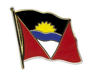 Flaggen-Pins Antigua und Barbuda