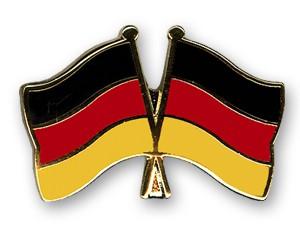 Freundschaftspins Deutschland-Deutschland