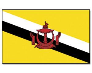 Flagge Brunei Darussalam