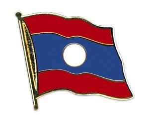 Flaggen-Pins Laos