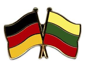 Freundschaftspins Deutschland-Litauen