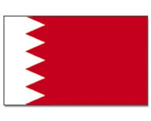 Flagge Bahrain