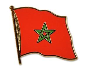 Flaggen-Pins Marokko