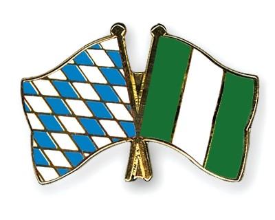 Freundschaftspins Bayern-Nigeria