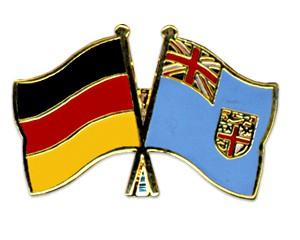 Freundschaftspins Deutschland-Fidschi