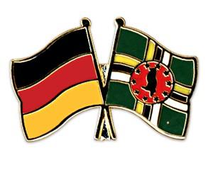 Freundschaftspins Deutschland-Dominica