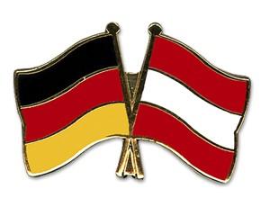 Freundschaftspins Deutschland-Österreich