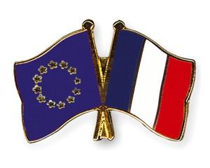 Freundschaftspins Europa-Frankreich