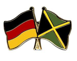 Freundschaftspins Deutschland-Jamaika