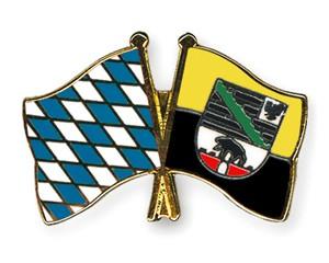 Freundschaftspins Bayern-Sachsen-Anhalt