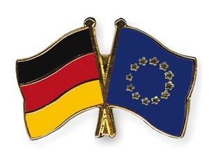 Freundschaftspins Deutschland-Europa