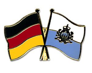 Freundschaftspins Deutschland-San Marino