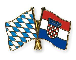Freundschaftspins Bayern-Kroatien