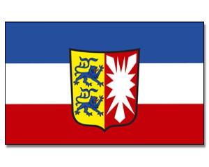 Stock-Flagge Schleswig-Holstein