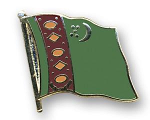 Flaggen-Pins Turkmenistan