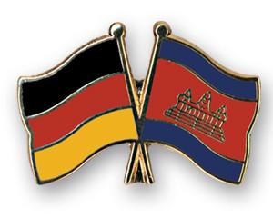 Freundschaftspins Deutschland-Kambodscha