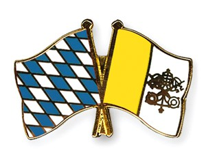 Freundschaftspins Bayern-Vatikanstadt