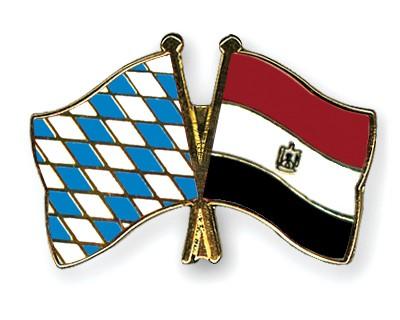 Freundschaftspins Bayern-Ägypten