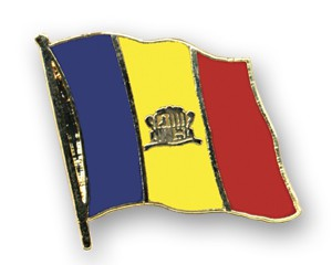 Flaggen-Pins Andorra