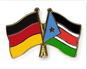 Freundschaftspins Deutschland-Süd Sudan
