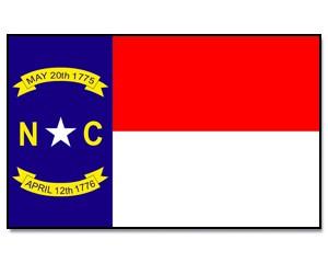 Flaggen North Carolina