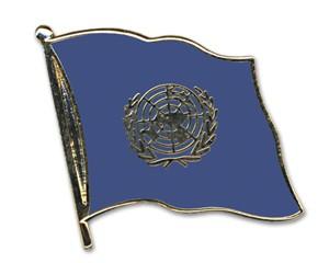 Flaggen-Pins UNO (Vereinte Nationen )