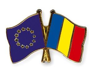 Freundschaftspins Europa-Rumänien