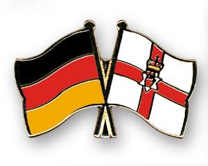 Freundschaftspins Deutschland-Nordirland