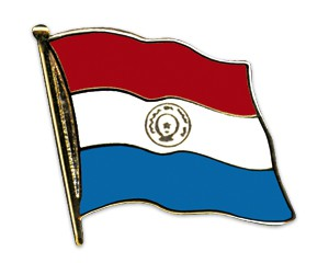 Flaggen-Pins Paraguay