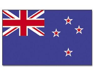 Stock-Flagge Neuseeland