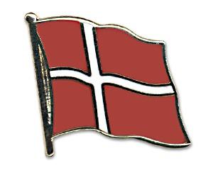 Flaggen-Pins Dänemark