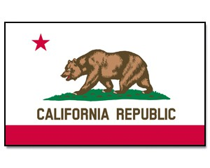 Flagge California