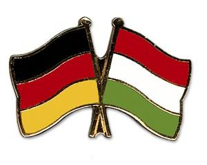 Freundschaftspins Deutschland-Ungarn