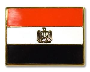 Flaggen-Pins Ägypten (rechteckig)