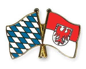 Freundschaftspins Bayern-Brandenburg