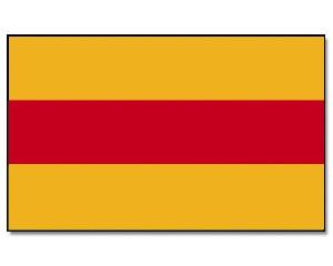 Stock-Flagge Baden