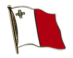 Flaggen-Pins Malta