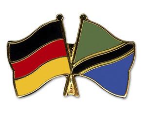 Freundschaftspins Deutschland-Tansania