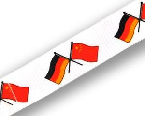 Freundschafts-Schlüsselbänder Deutschland-China