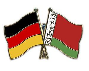 Freundschaftspins Deutschland-Belarus (Weißrussland)