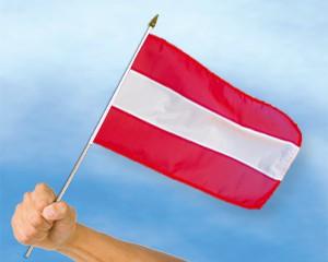 Stock-Flagge Österreich