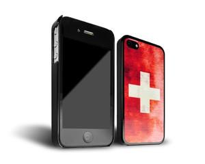 Smartphone-Hülle Schweiz iPhone 4 Schwarz