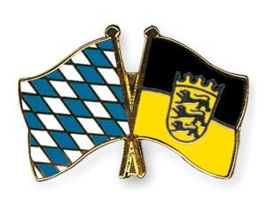 Freundschaftspins Bayern-Baden-Württemberg