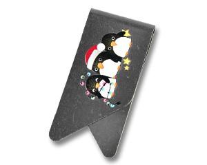 Büroklammer DeltaClips XL Die Weihnachtspinguine