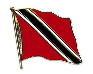 Flaggen-Pins Trinidad-und-Tobago